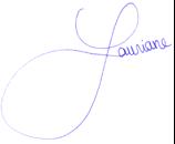 Unterschrift Lauriane